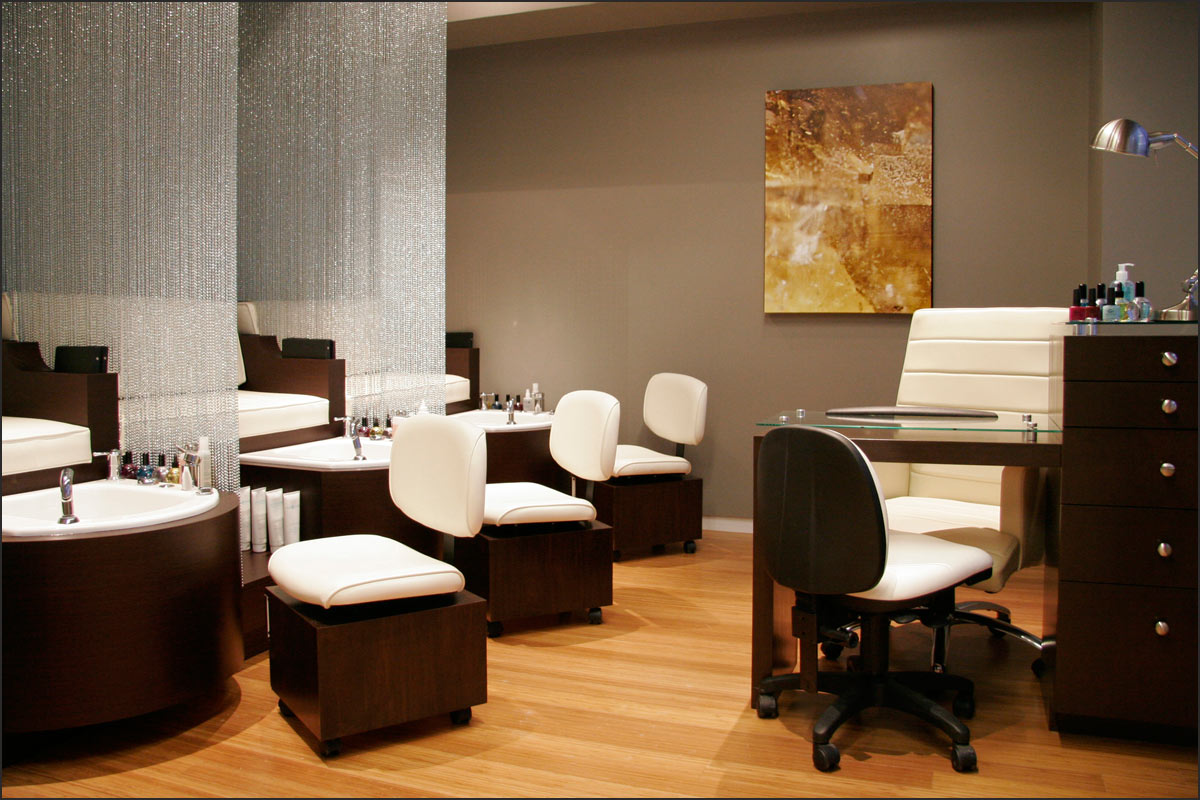 Luxury nail salon interior design - Nail Salon