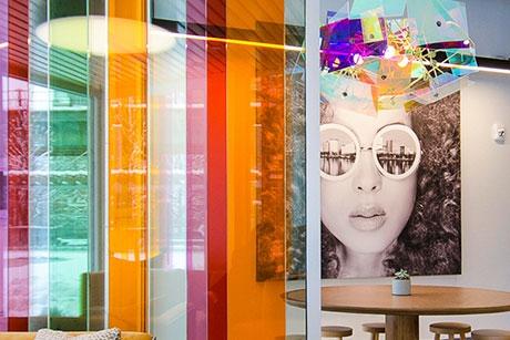 AVA North Point - Lobby Art