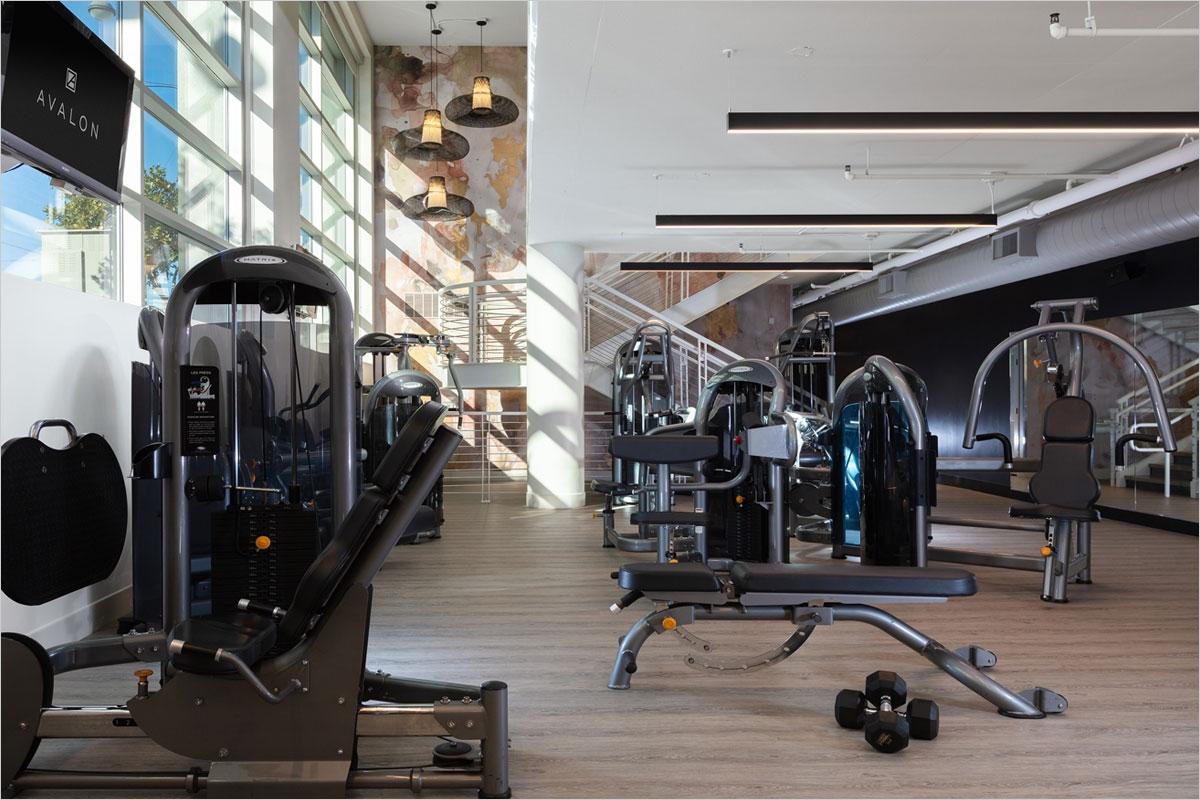 Avalon Mission Bay 2-story Fitness