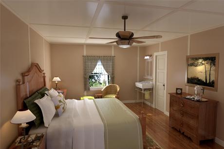 Guestroom - Rendering