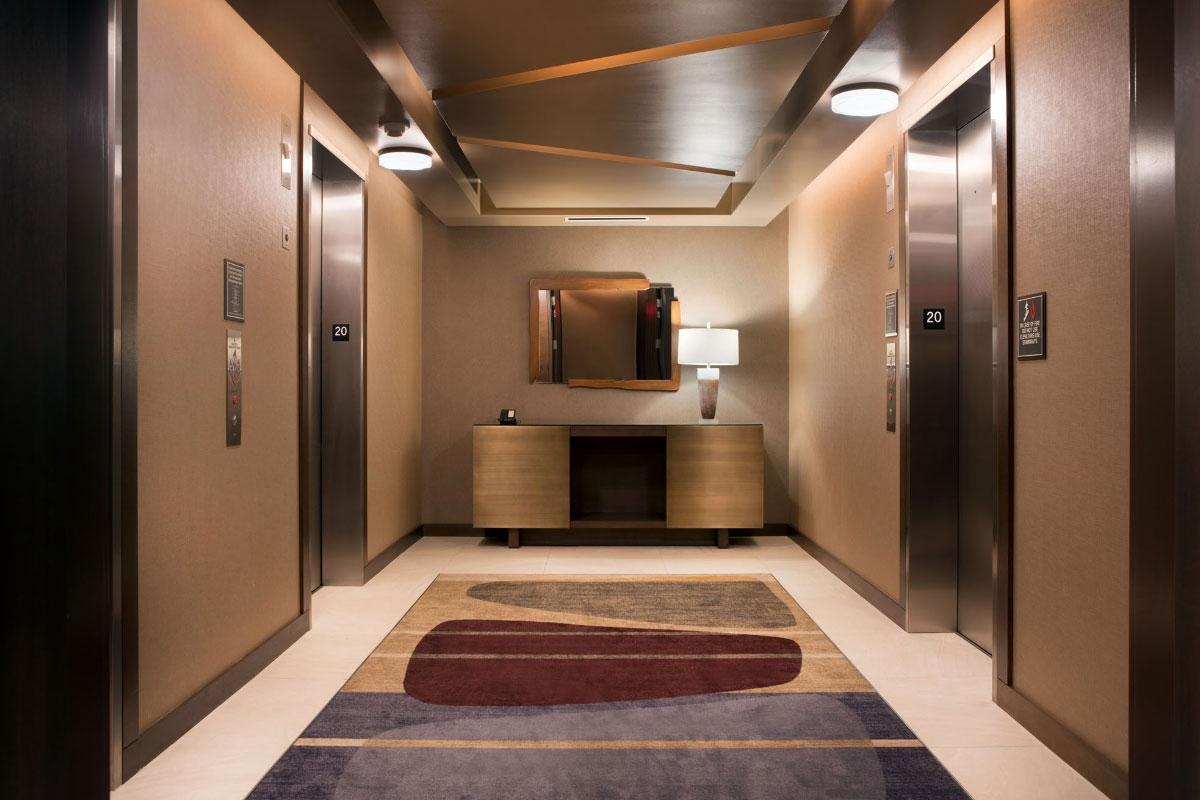 Residence Inn Elevator Lobby