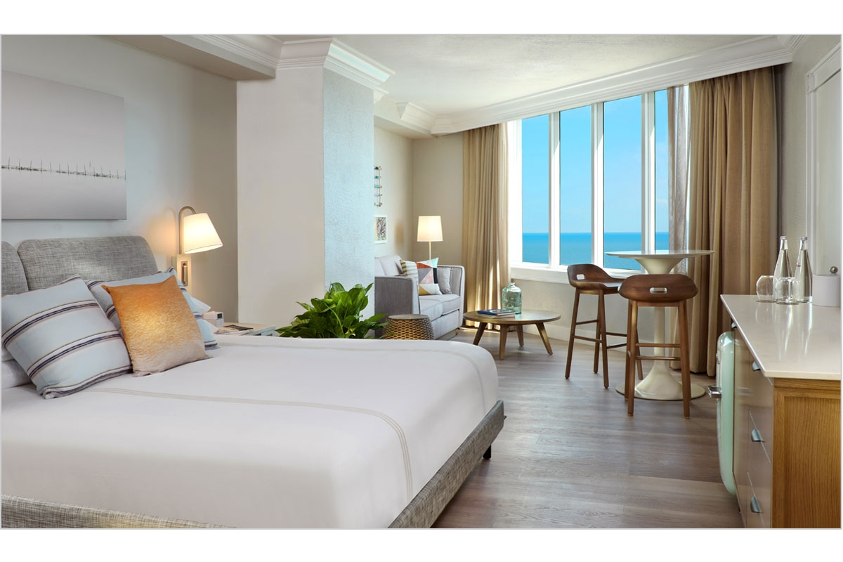 Pelican Grand Ocean View Guestroom