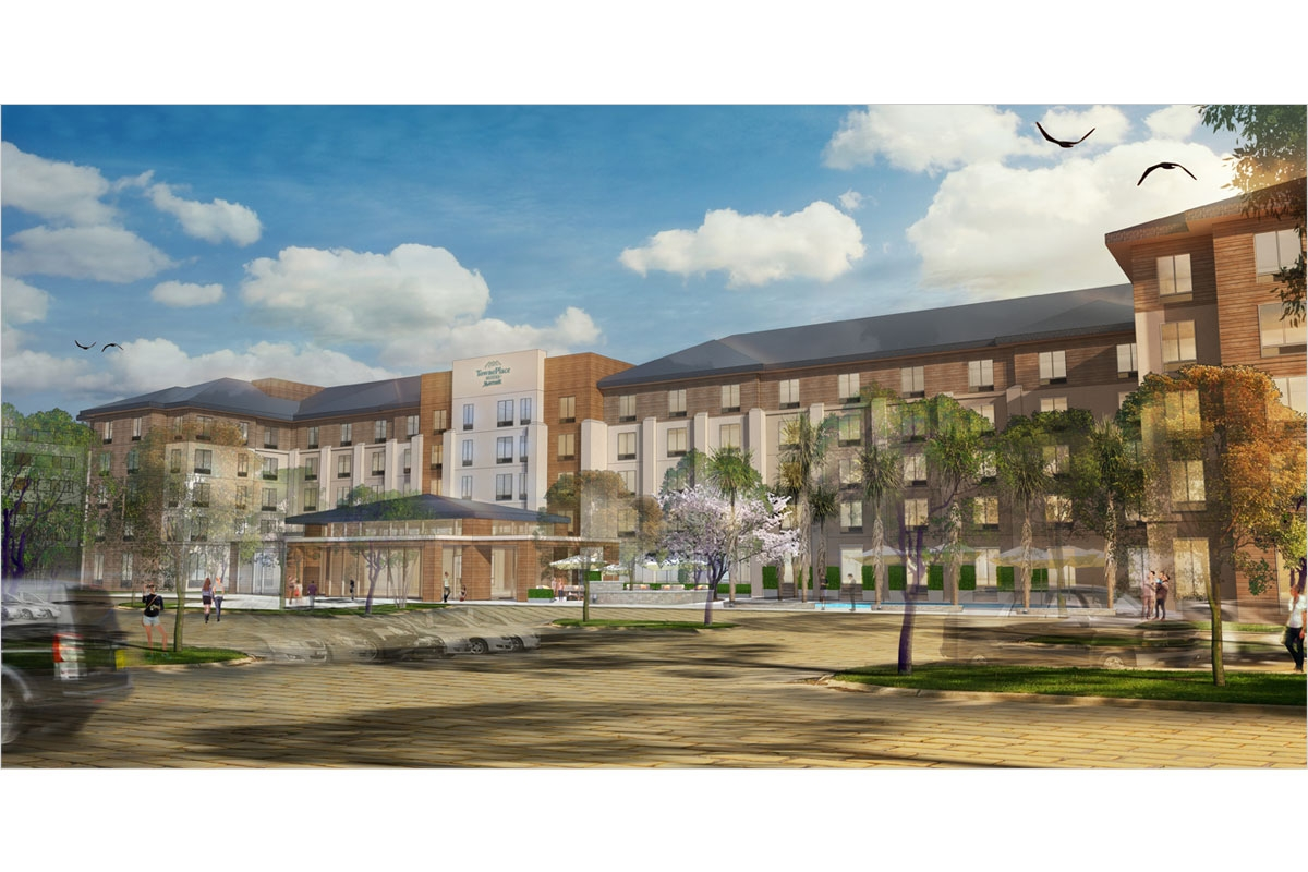 TownePlace Suites Exterior Rendering